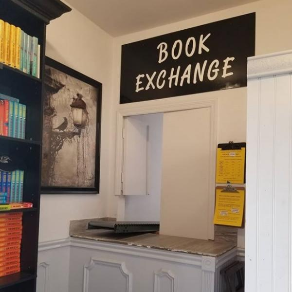 Trade Ins Book Exchange at Sandman Books Punta Gorda Florida Used Bookstore